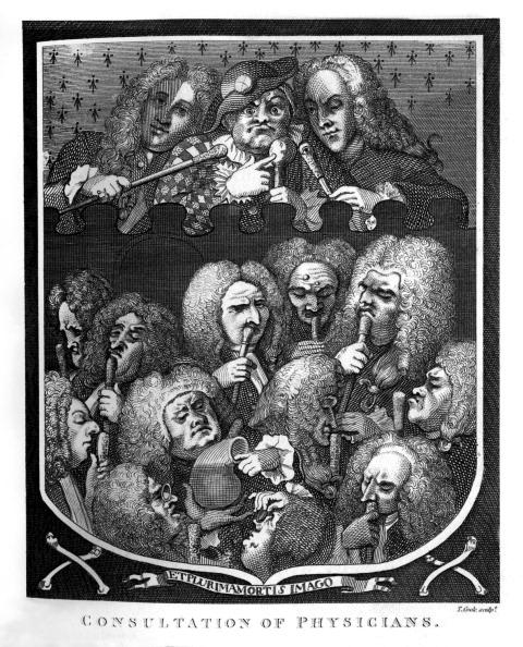 William Hogarth「Consultation of Physicians by William Hogarth」:写真・画像(11)[壁紙.com]