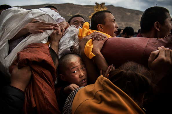 Monk - Religious Occupation「Tibetans Mark The Great Prayer」:写真・画像(0)[壁紙.com]