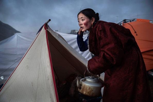 Cultures「Tibetans Gather For Prayers At Remote Institute」:写真・画像(18)[壁紙.com]