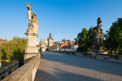 Charles Bridge「Charles Bridge, Mala Strana Bridge Tower, Prague」:スマホ壁紙(2)