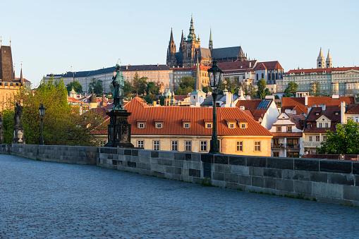 St Vitus's Cathedral「Charles Bridge, Prague」:スマホ壁紙(14)