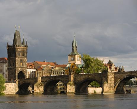 Charles Bridge「Charles Bridge on Vltava River, Prague」:スマホ壁紙(12)
