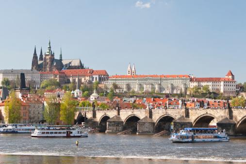 Charles Bridge「Charles Bridge, Prague Castle, Czech Republic」:スマホ壁紙(11)