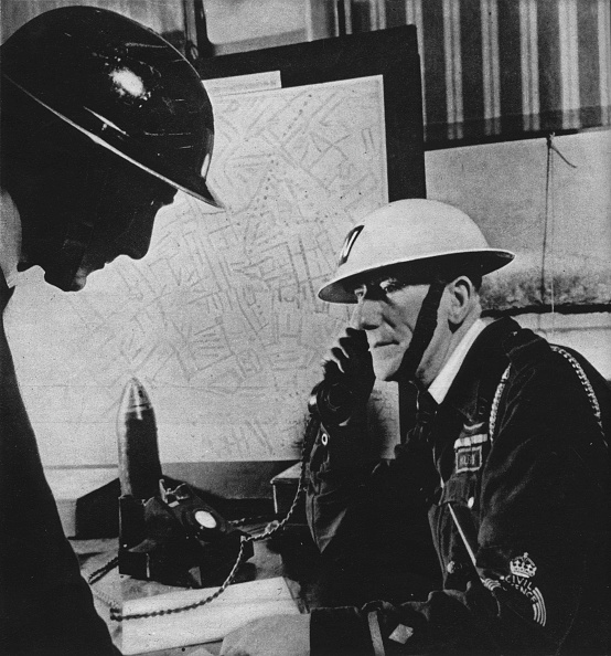 Misfortune「Fifty Thousand Incidents were reported to London Control Centres during the Blitz, 1941 (1942)」:写真・画像(1)[壁紙.com]