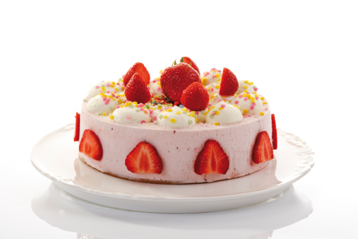 Torte「Strawberry-cream cake, close-up」:スマホ壁紙(17)