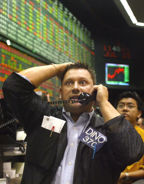 Dow Jones Industrial Average「Markets Continue Volatile Week」:写真・画像(6)[壁紙.com]