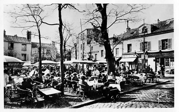 City Life「Place du Tertre,  Paris, c. 1920s」:写真・画像(17)[壁紙.com]