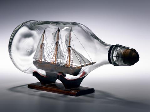 Ship「Sailing ship in bottle」:スマホ壁紙(6)