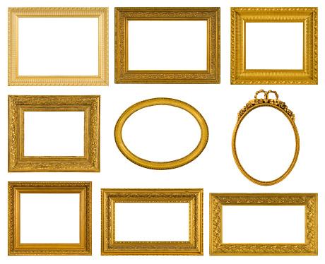 Frame - Border「Antique Frame Collection」:スマホ壁紙(17)