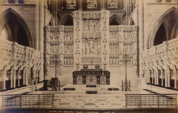 Ornate「Altar And Reredos Truro Cathedral」:写真・画像(2)[壁紙.com]
