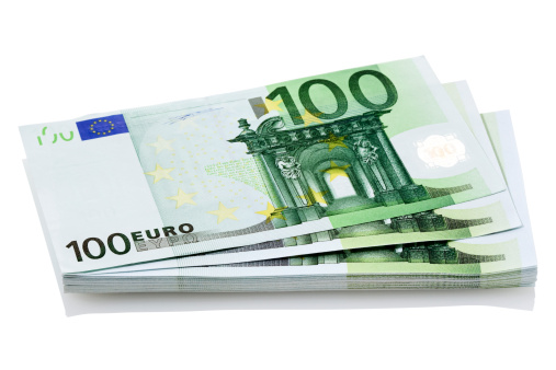 Fanned Out「Bundle of European 100 Euro notes」:スマホ壁紙(12)