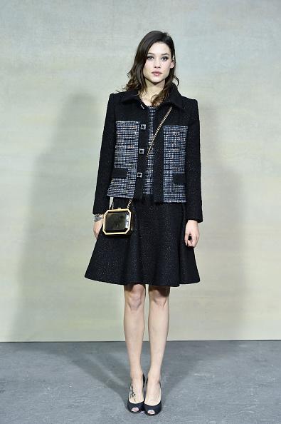 Black Skirt「Chanel : Front Row  - Paris Fashion Week Womenswear Spring/Summer 2015」:写真・画像(19)[壁紙.com]
