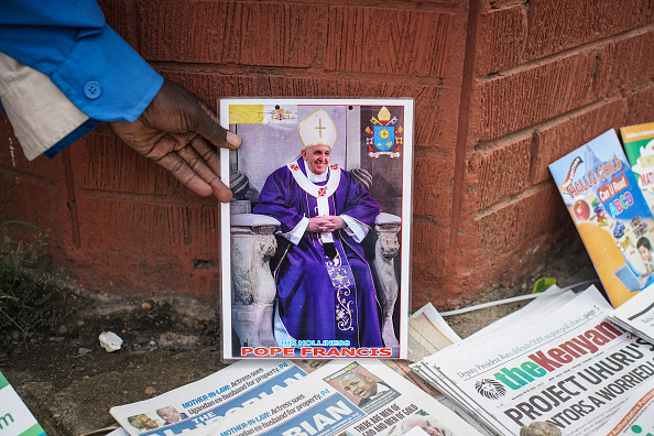 Nichole Sobecki「Final Preparations Are Made For The Arrival Of Pope Francis To Kenya」:写真・画像(17)[壁紙.com]