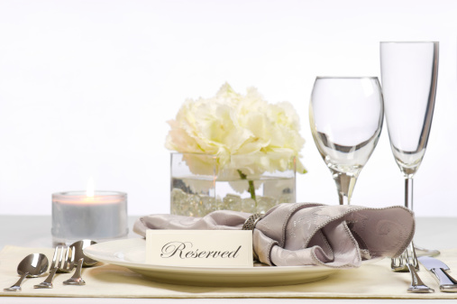 Place Card「Reserved table」:スマホ壁紙(14)