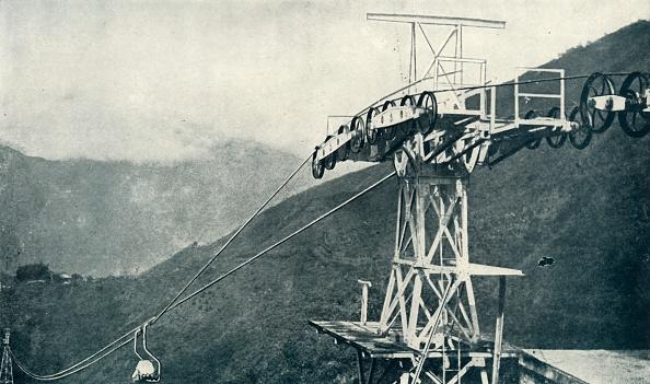 Mountain Range「A View On A Rope Railway」:写真・画像(16)[壁紙.com]