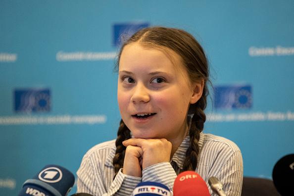Greta Thunberg「Greta Thunberg Speaks In Brussels, Attends Protest March」:写真・画像(8)[壁紙.com]