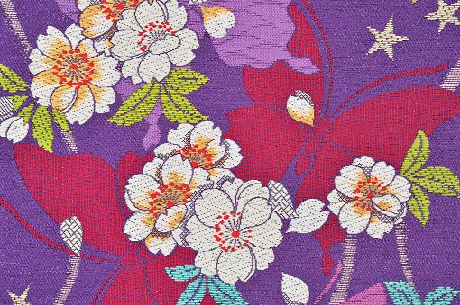 Embroidery「The Japanese Kimono, close up」:スマホ壁紙(16)