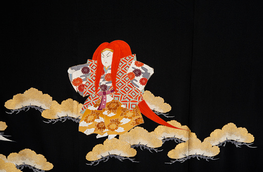 Kimono「The Japanese Kimono, close up」:スマホ壁紙(3)