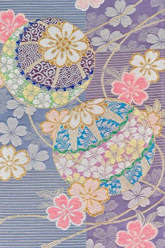 Kimono「The Japanese Kimono, close up」:スマホ壁紙(1)
