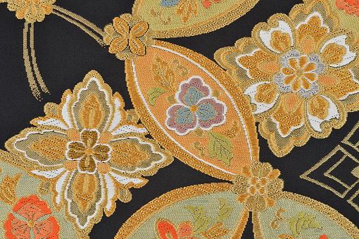 Embroidery「The Japanese Kimono, close up」:スマホ壁紙(3)