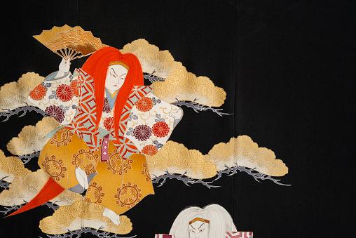 Kimono「The Japanese Kimono, close up」:スマホ壁紙(7)