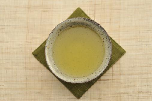 緑茶「The Japanese tea which a teacup contains」:スマホ壁紙(16)