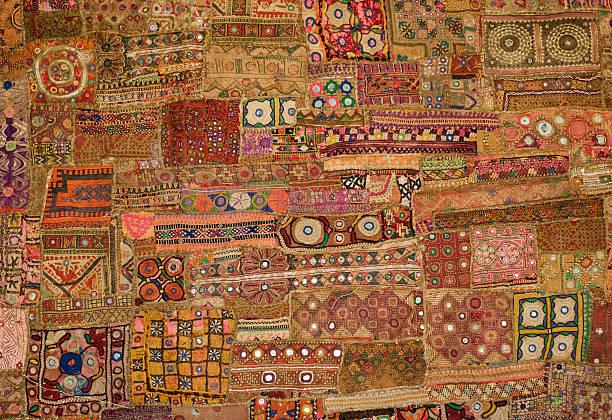 Indian Tapestry - patchwork:スマホ壁紙(壁紙.com)