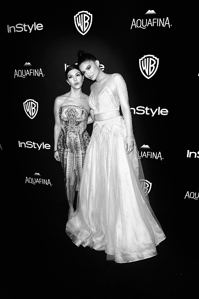Embellished Dress「An Alternative View Of The 73rd Annual Golden Globe Awards & After Parties」:写真・画像(13)[壁紙.com]