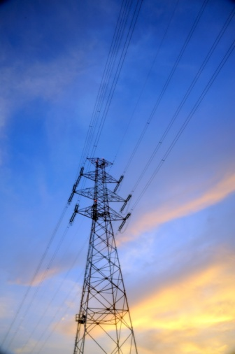 Electricity Pylon「Power Pylon, Osaka Prefecture, Japan」:スマホ壁紙(19)