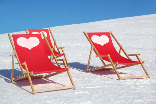Ski Resort「lounge chairs」:スマホ壁紙(2)