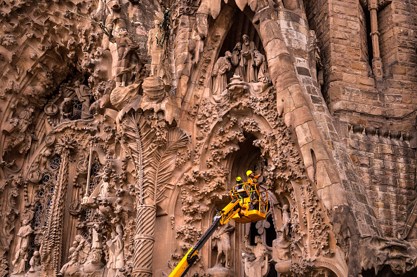 Sagrada Familia - Barcelona「Sagrada Familia Enters Final Construction Phase」:写真・画像(9)[壁紙.com]