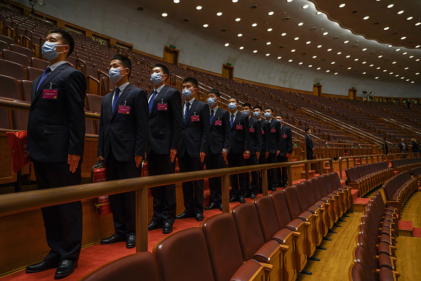 Security「China Holds Annual Two Sessions Meetings Amidst Global Coronavirus Pandemic」:写真・画像(3)[壁紙.com]