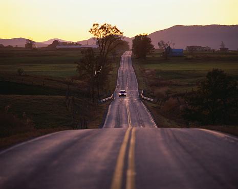 Adirondack Mountains「Route 125 in Vermont」:スマホ壁紙(13)