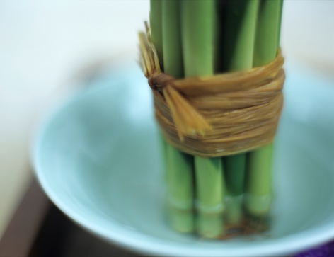 Feng Shui「Bamboo tied with bast, close-up」:スマホ壁紙(12)