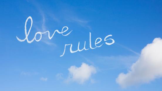 名画「Love rules」:スマホ壁紙(12)