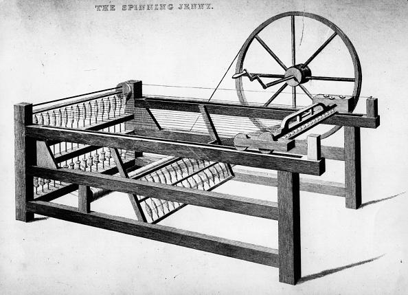 18th Century Style「Spinning Jenny」:写真・画像(19)[壁紙.com]