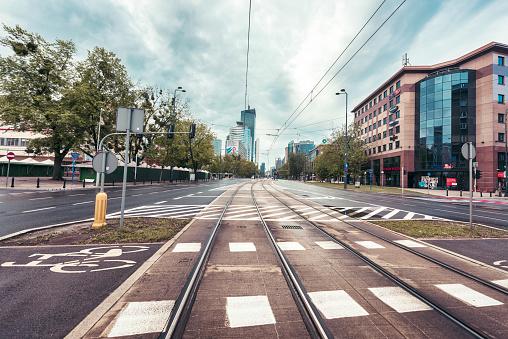 Poland「Warsaw Street view」:スマホ壁紙(19)