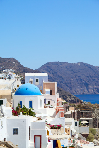 Aegean Sea「Oia Cityscape. Santorini. Greece.」:スマホ壁紙(17)