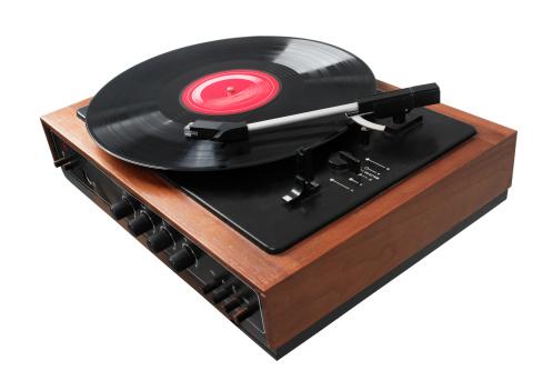 Record - Analog Audio「Gramophone Playing LP Disc」:スマホ壁紙(13)