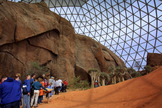 Architectural Dome「Desert Dome Opens at Henry Doorly Zoo」:写真・画像(10)[壁紙.com]