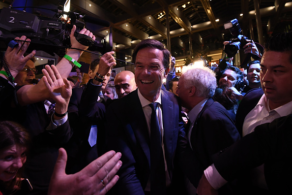 Netherlands「People's Party for Freedom and Democracy Declared Winners of Dutch Election」:写真・画像(19)[壁紙.com]