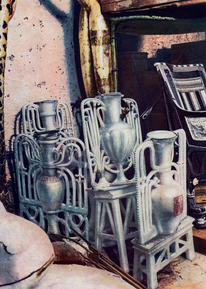 Alabaster「Alabaster vases, Tutankhamun's tomb, Egypt, 1933-1934.」:写真・画像(15)[壁紙.com]