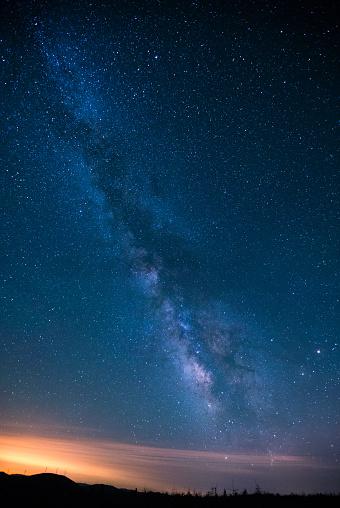 星空「Milky Way 夜」:スマホ壁紙(17)
