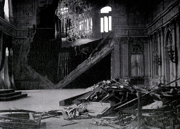 City Life「World War 1: Destruction of a throne room in Belgrade」:写真・画像(2)[壁紙.com]