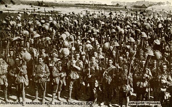 Australian Culture「World War 1: Australians parading for the trenches」:写真・画像(19)[壁紙.com]