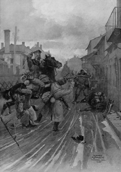 Hiding「World War 1: Russian attack on Polish legionaires」:写真・画像(11)[壁紙.com]
