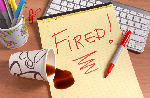 Employment And Labor「Fired office desk」:スマホ壁紙(2)