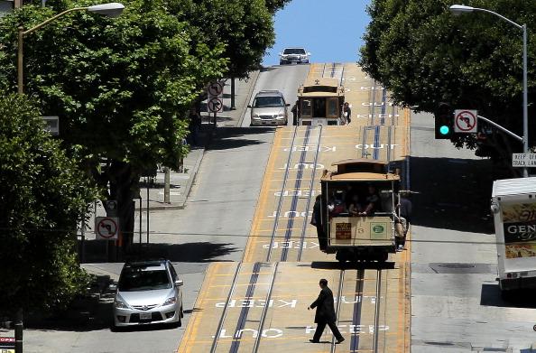 カリフォルニア州 サンフランシスコ「San Francisco's Famed Cable Car Fare To Increase」:写真・画像(5)[壁紙.com]