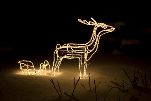 Sled「lighted reindeer」:スマホ壁紙(8)