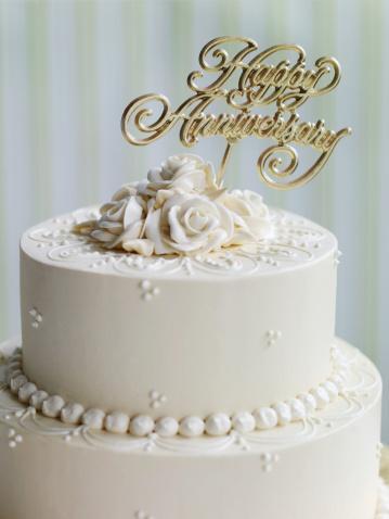 結婚「Anniversary Cake」:スマホ壁紙(12)